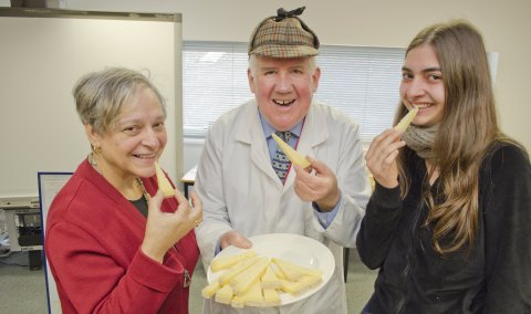 Reaseheath College and cheese detective host Italian students