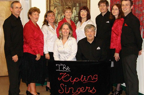 The Kipling Singers in Concert to be staged in Wistaston