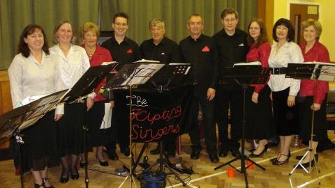 Wistaston village pack hall to enjoy The Kipling Singers