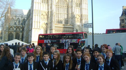 Brine Leas pupils enjoy London outing at Commonwealth Service