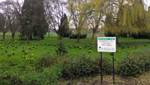Danger dog warning for Brookfield Park users in Nantwich