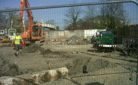 Work on new Nantwich houses at old job centre site begins