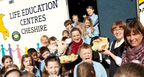 Nantwich primary pupils enjoy Life Education classroom visit