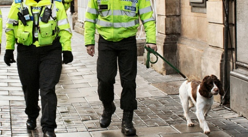 Nantwich Police drugs dog welcomed by town pub bosses