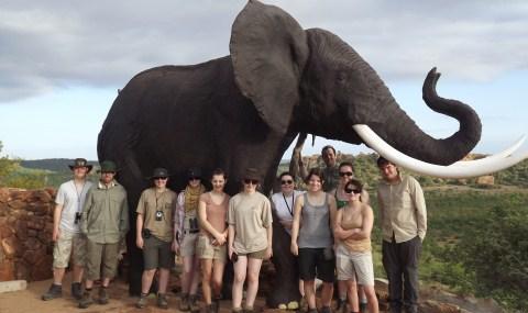 Reaseheath College students first to visit African wildlife reserve