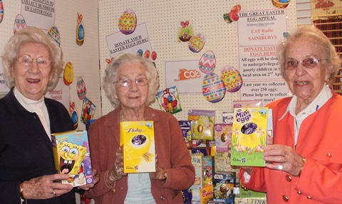 Nantwich Easter Egg Appeal proving big hit