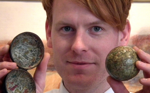 Pocket globe sells for £18,000 at Nantwich auction