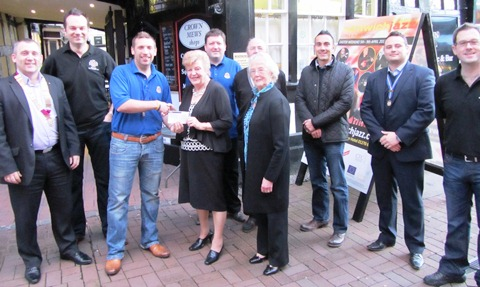 Crewe & Nantwich Round Table's £2k boost to One in Eleven Appeal