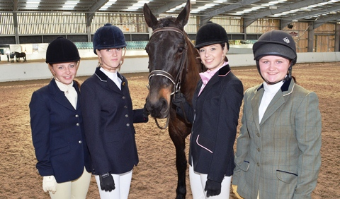 Reaseheath College equine students ride high in UK competition