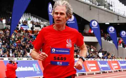 South Cheshire Harrier in top 40 of Olympic Park Run