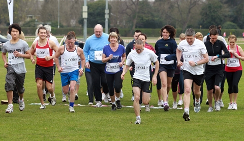 Hospital staff in Nantwich 5km run for One in Eleven Appeal
