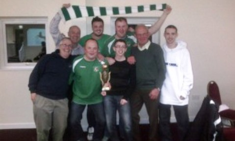 Nantwich Town fans win Cheshire's first Inter Club quiz trophy