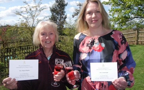 Nantwich mum and daughter invited to Queen's garden party