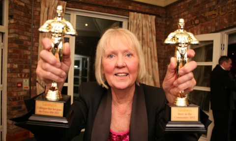 """Nantwich Sainsbury's wins two prizes at firm's """"Oscars"""" night"""