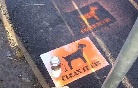 clean it up dog fouling