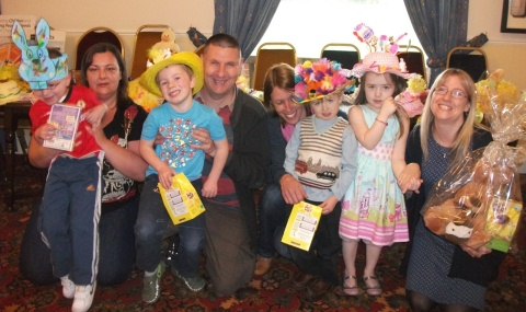 Nantwich CC pre-school stages Easter bonnet parade