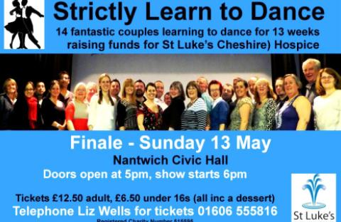 Nantwich gears up for Strictly Dance finale for St Luke's Hospice