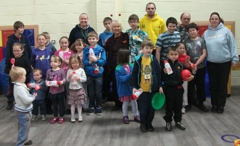 Children enjoy fun day at Wingate Centre in Wrenbury