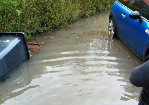 Wistaston residents' flooding nightmare after burst water main