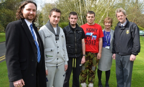 Young Nantwich gardeners bloom in new training scheme