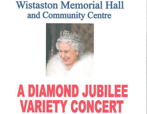 Diamond Jubilee Variety Concert at Wistaston Memorial Hall