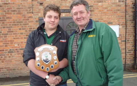 Young farmer scoops top prize at Reaseheath College in Nantwich
