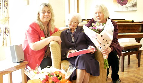 Nantwich care home resident celebrates 104th birthday