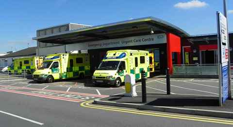 Patient boost as Leighton Hospital made Major Trauma Unit