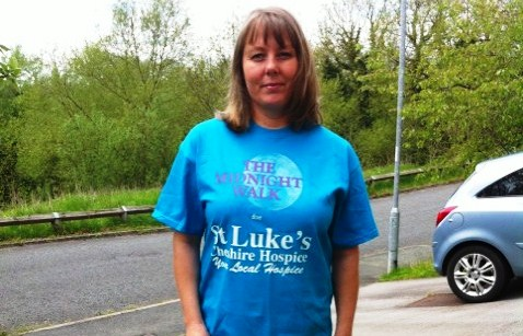 Care worker to join St Luke's Hospice Midnight Walk in dad's memory