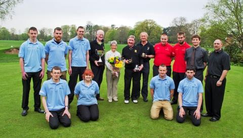 Nantwich councillor wins Reaseheath veteran golf tournament