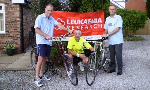 Wistaston men tackle Coast to Coast in charity cycle bid