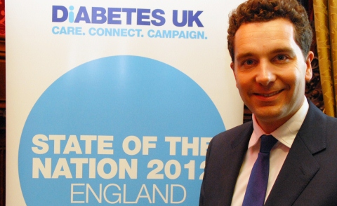 Edward Timpson and Diabetes UK
