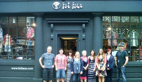 Fat Face Nantwich store opening hailed a success by bosses