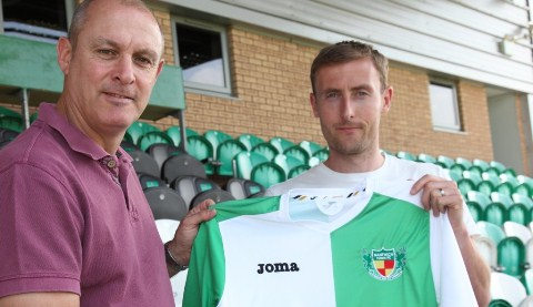 Nantwich Town sign striker Mark Beesley from Hednesford Town