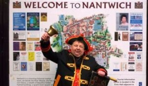 Nantwich Town Crier John Parsons (pic courtesy of Rotary Club of Crewe & Nantwich Weaver)