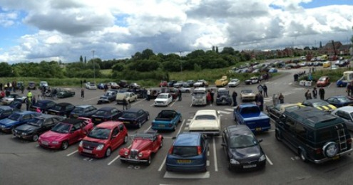 Nantwich Transport Festival held at Weaver Stadium