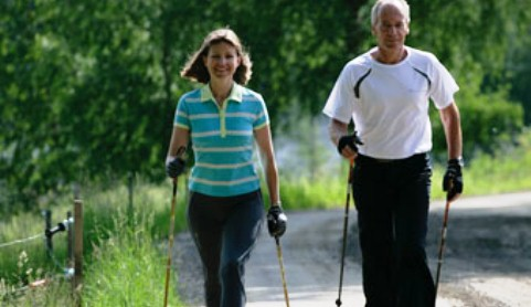 Nantwich residents urged to take up Nordic Walking
