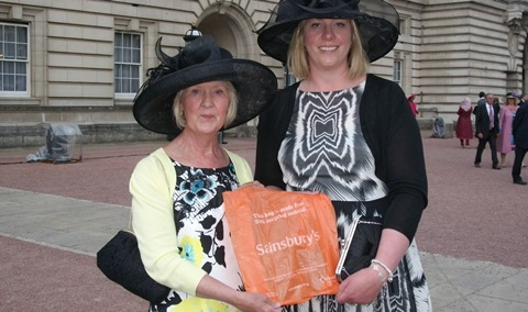 Nantwich charity champion meets the Royals at Buckingham Palace event