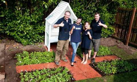 "Bankers help Nantwich care home create ""Jubilympics"" garden"