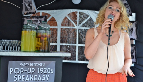 South Cheshire firm Happy Heritage big hit at Audlem festival