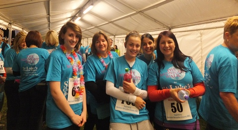 St Luke's Cheshire Hospice Midnight Walk hailed a success
