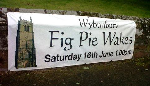 Hundreds turn out for Wybunbury Pie Wakes despite the rain