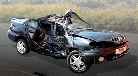 Parents offer son's death crash car as Cheshire Show police exhibit