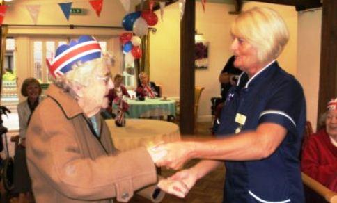 Richmond Village Nantwich hosts Diamond Jubilee street party