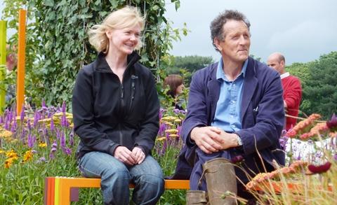 Reaseheath College student garden scoops award at RHS Flower Show