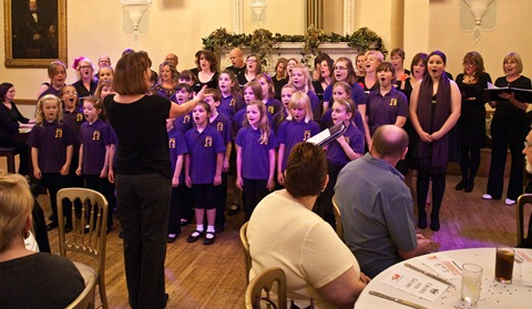 "Local singers thrill Nantwich crowd at ""Crown and Glory"" event"