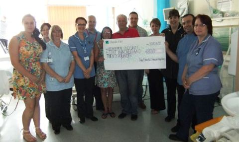 South Cheshire Clay Pigeon club raises Leighton Hospital funds