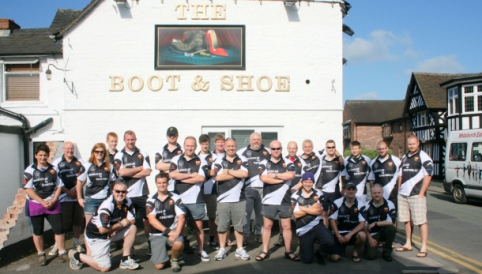 Crewe & Nantwich rugby team complete 42-mile charity Moors walk