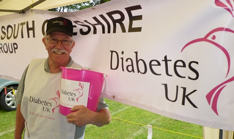Wistaston couple stage garden party for diabetes charity
