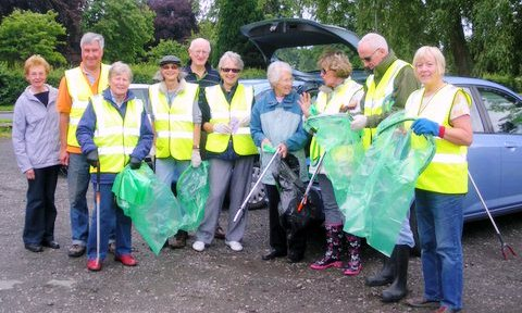 Nantwich Litter Group targets Queen's Drive and Millstone Lane